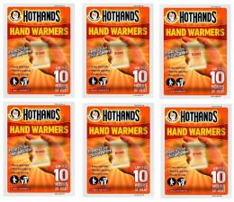 Hot Hands Instant Pocket Disposable Hand Warmers 6 Pairs of Warmer Handwarmers